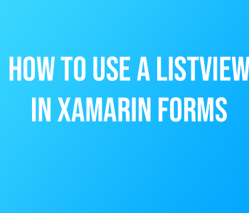 How to Add Checkmarks to a ListView in Xamarin Forms - Derek